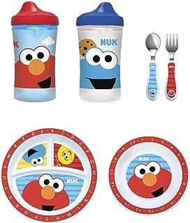 NUK Sesame Street Toddler Feeding Set