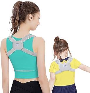 Posture Corrector for Men and Women Kids with Smart Sensor Vibration Reminder - Upper Back Brace For Clavicle Support, Adjustable Back Straightener And Providing Pain Relief From Neck, Back & Shoulder