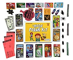 Image: The Mega Prank Kit | 35 Funny Pranks and Jokes in a Gift Box | by Brite Co Pranks