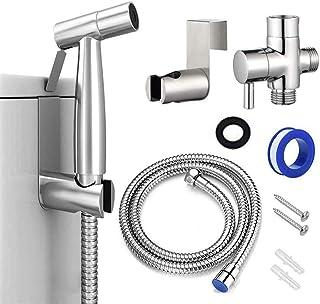 Home-Mart Bidet Sprayer for Toilet and Baby Cloth Diaper Sprayer, Stainless Steel Bathroom Jet Sprayer Kit Spray Attachmen...