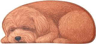 CMJLBM 3D Handmade Cute Sleeping Dog Shaped Floor Mat Non-Slip Washable Animal Carpets Kids Play Area Rug for Bedroom Living Room Kitchen Toilet 22.8 X 50 Inch (L-4)