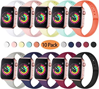 Zekapu Sport Band Compatible for Apple Watch 38mm 40mm,...
