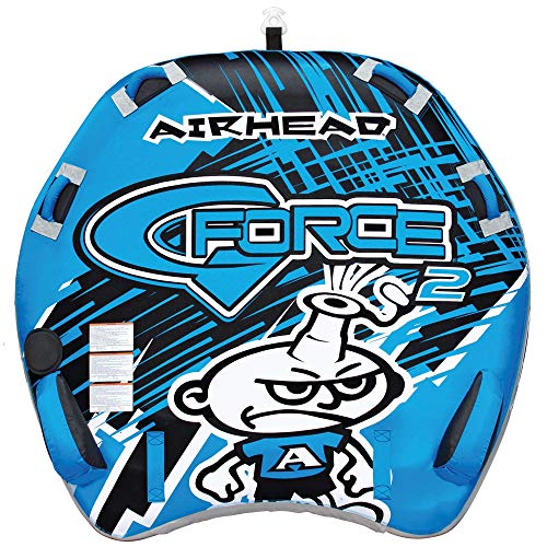 Airhead G-Force | 1-4 Rider Towable Tube for Boating, Multi (AHGF-2)