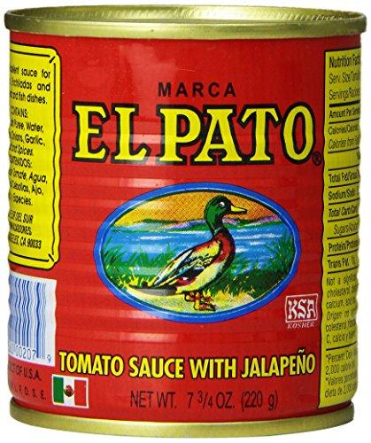 [エルパト] EL PATO(エルパト)ハラペーニョ トマトソース 7.75oz / 220g ×24缶セット[並行輸入品]