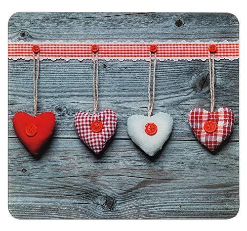 WENKO Multi-Platte Herzen Herdwand Wanddekor Wandschutz Herdwandschutz