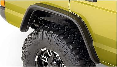 Bushwacker 10064-07 Jeep Flat Style Fender Flare - Rear Pair
