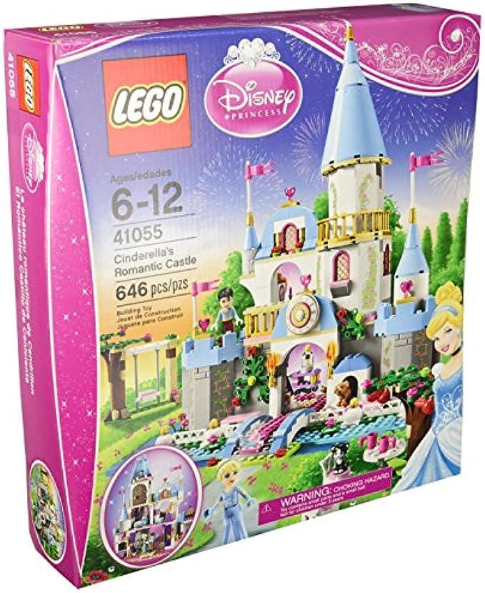 LEGO Disney Princess 41055 הטירה הרומנטית של סינדרלה
