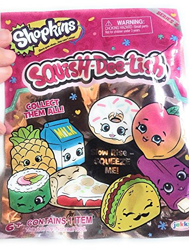 Squish-Dee-Lish Shopkins Series 2 Slow Rise Squeeze Me Blind Bag