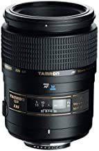 Tamron AF 90mm f/2.8 Di SP AF/MF 1:1 Macro Lens for Nikon Digital SLR Cameras (Renewed)