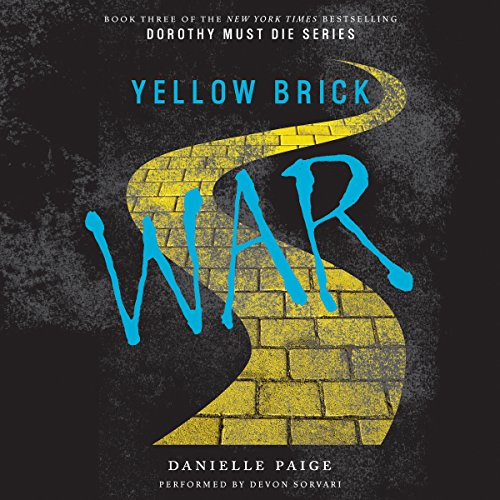Yellow Brick War audiobook cover art