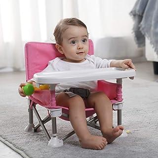 Mumfactory baby chair feeding | Baby Seat with tray | Baby garden chair | Fordable baby seat for feeding, playing, Beach, ...
