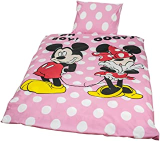 Funda Nordica Mickey Y Minnie Beso.Amazon Es Funda Nordica Minnie Y Mickey