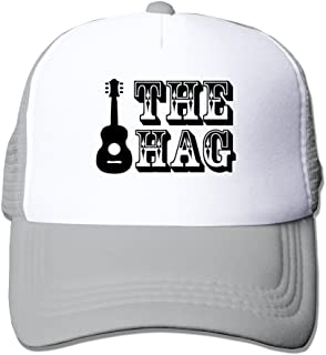 Country Music Merle Haggard The Hag Guitar Man Woman Caps Black