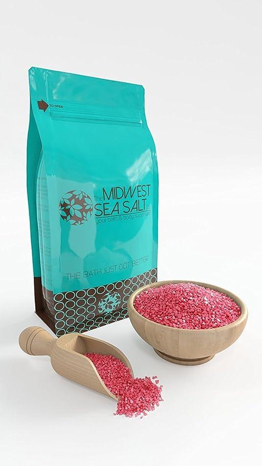 Plumeria Mediterranean Sea Bath Salt Soak - 5lb (Bulk) - Coarse Grain
