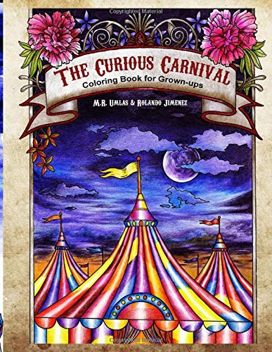The Curious Carnival: Coloring Book for Grown-ups download ebooks PDF Books