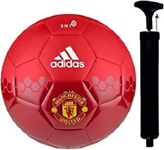 SMT MUFC Hand Stiched Football Size-05