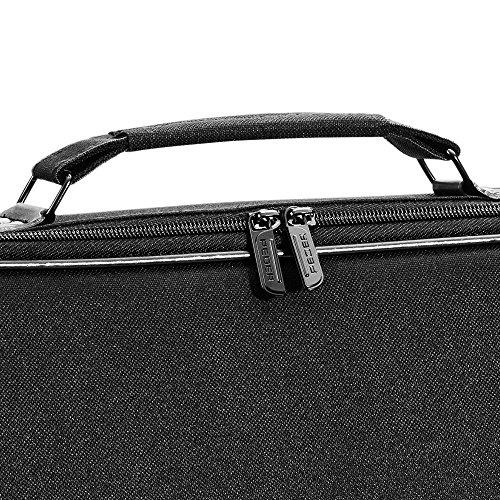 PEDEA Tablettasche Fair Tasche bis 10,1 Zoll (25,6cm) Umhängetasche Laptop-Tasche Notebook-Tasche mit Schultergurt, Schwarz