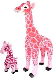 Adventure Planet Pink Standing Giraffe ~ 25