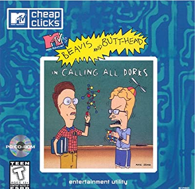 MTV's Beavis and Butt-Head in Calling All Dorks by Manufacturer:  Viacom NewMedia
