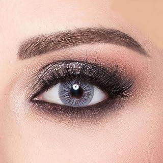 Amara Ash Gray Contact Lenses, Original Unisex Amara Cosmetic Contact Lenses, Monthly Disposable, Ash Gray Color