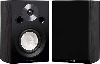 Fluance Reference XL8S - Estantería y altavoces de sonido envolvente de 2 canales para escuchar estéreo o sistema de cine ...