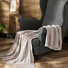 Soft Knit Throw Blanket Sofa Bed Travel Throw Blanket Air Condition Blanket 130x180cm Home Decor