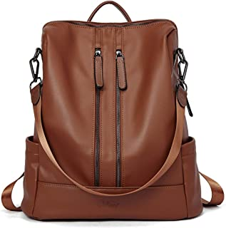 Women Backpack Purse Leather Fashion Travel Casual Detachable Ladies Shoulder Bag