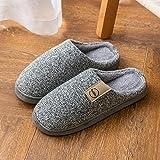 direction Zapatos Unisex,Bolso de otoño e Invierno con Piel de Fondo Grueso para el hogar, cálido Antideslizante-Twenty One_44-45#,Zapatos Minimalistas