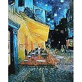 Fumoi Puzzle da 1000 Pezzi per Adulti | Puzzle Terrazza del Caffè la Sera di Vincent Van Gogh | Jigsaw Puzzle Puzzle da 1000 Pezzi per Adulti