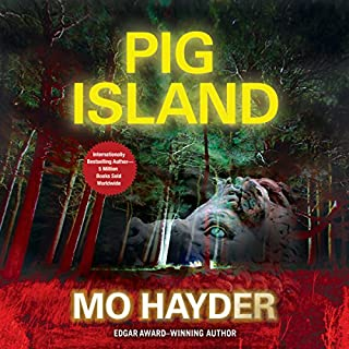Pig Island audiobook cover art