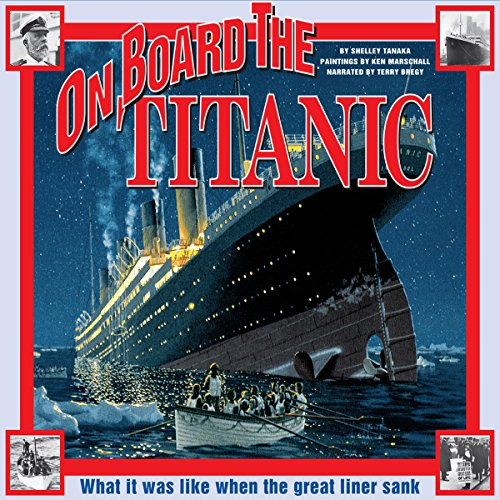 On Board the Titanic audiobook cover art