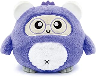 WOOBO Electronic Learning & Education Toys, AI Stuffed Toys, Plush Toys for Kids, with Songs, Stories and Voice Interaction. (Purple)