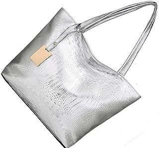Fashion Women Single-shoulder Bag Casual shopping handbag Large capacity Girl PU Leather Shoulder Bag Lady Large Capacity ...