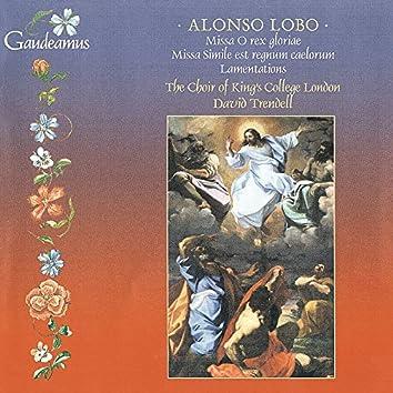 Alonso Lobo: Lamentations; Masses