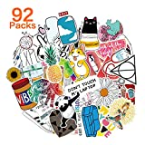 QIMMU Cool Sticker Pack, Adesivi per Bottiglie d'Acqua,Adesivi Valigia Ragazza,Decalcomani...