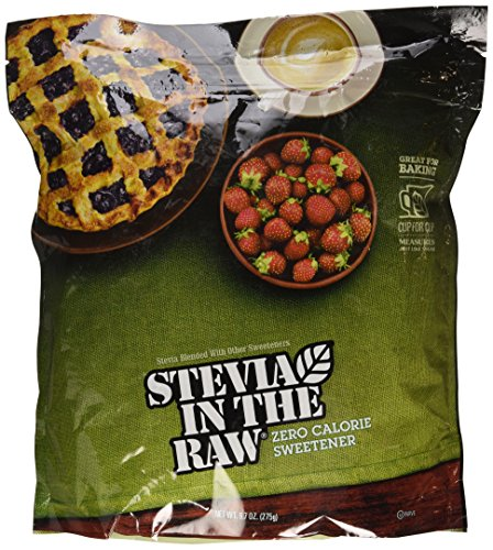 Stevia in the Raw, Sugar Substitute, Zero Calories, 9.7oz Bag, 2 Pack