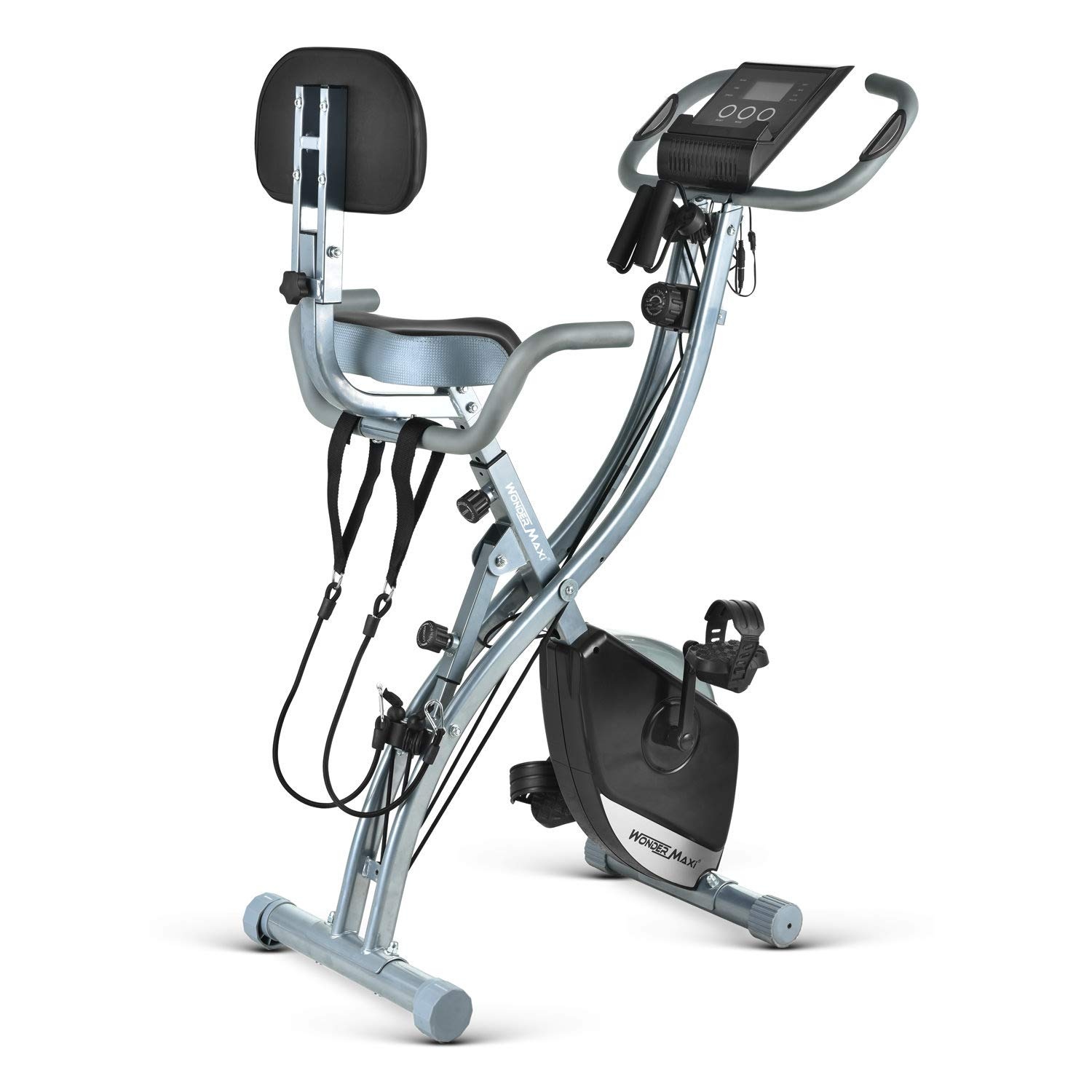 Folding Magnetic Exercise Recumbent Resistance
