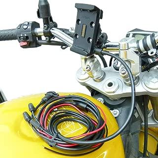Hardwire Powered Bike Motorcycle Handlebar Mount for Garmin Zumo 590 595