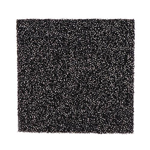 5 Stks Universeel Zwart Geactiveerd Koolstofschuim Sponge Luchtfilter Geïmpregneerd Bladblok