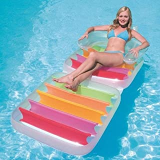 Mopoq Adult Foldable PVC Thicken Beach Swimming Pool Water Floating Row Inflatable Toys 198 * 94CM
