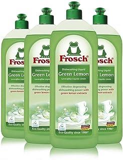 صابون سائل طبيعي من فروش، مطهر غسيل يدوي نباتي، بالليمون الأخضر، 750 مل (عبوة من 4 قطع)