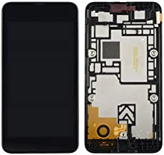 Shinefuture para Nokia Lumia 530 Reemplazo de Pantalla LCD Touch Digitalizer Assembly Herramientas gratuitas (con Marco)