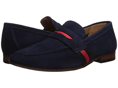 Steve Madden Klique (Blue Suede) Men