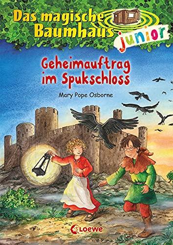 Das magische Baumhaus junior (Band 27) - Geheimauftrag im Spukschloss: Kinderbuch zum Vorlesen und ersten Selberlesen - Mit farbigen Illustrationen - Für Mädchen und Jungen ab 6 Jahre
