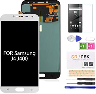 AMOLED Screen Replacement for Samsung Galaxy J4 J400 (2018) J400 J400F J400G/DS SM-J400F LCD Display Touch Digitizer Glass Panel Full Assembly