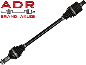 SuperATV ADR Brand Rear Stock Length Axle for Full Size Polaris Ranger XP 1000 (2017-2018) - A Cost Effective Axle to Meet & Exceed Your OEM Axle!