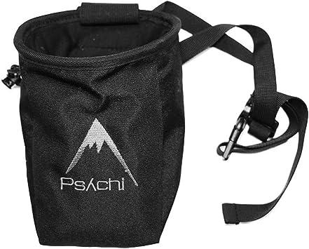Psychi - Bolsa de magnesio con bolsillo y cinturón, color ...