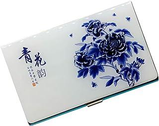 Boîte de titulaire de carte de cas de carte de nom d'affaires