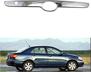 huazhuang-Home Fit for Toyota Corolla Sedan 2003-08 Chrome Car Rear Trunk Lid Edge Tailgate Boot Door Cover Trim Molding T...