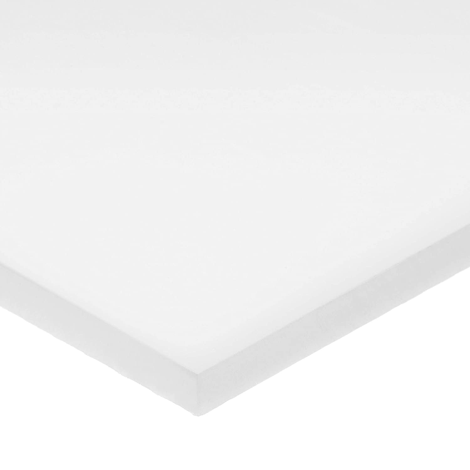 White UHMW Polyethylene Plastic Bar Free shipping New - 3 Thick Wide x Fort Worth Mall 1-1 8